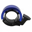 Q Shape Bicycle Handlebar Bell Ring Horn - Black + Blue