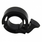 Q Shape Bicycle Handlebar Bell Ring Horn - Black