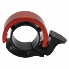 Q Shape Bicycle Handlebar Bell Ring Horn - Black + Red