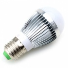 CXHEXIN E27 6W 14-2835SMD LED Warm White Light Lamp Bulb - Silver