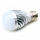 CXHEXIN E27 6W 14-SMD 2835 LED Neutral White Light Lamp Bulb - Silver