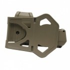 The New G17 Senior Practical Holster + Waist Buckle - Muddy