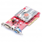 ATI Radeon 9550 256M DDR 128bit AGP Video Card with VGA + S-Video + DVI