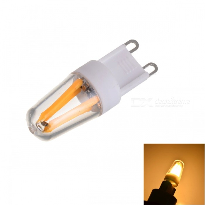 Marsing Dimmable G9 2W 200lm 4-COB LED Warm White Light Filament Bulb