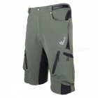 ARSUXEO Sportwear Men's Short Pants for Cycling - Army Green (XL)