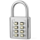 3-Code 8-Digit Combination Lock (Medium)