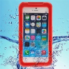 Waterproof Heavy Duty Protective PC + TPU Case for IPHONE 7 - Red