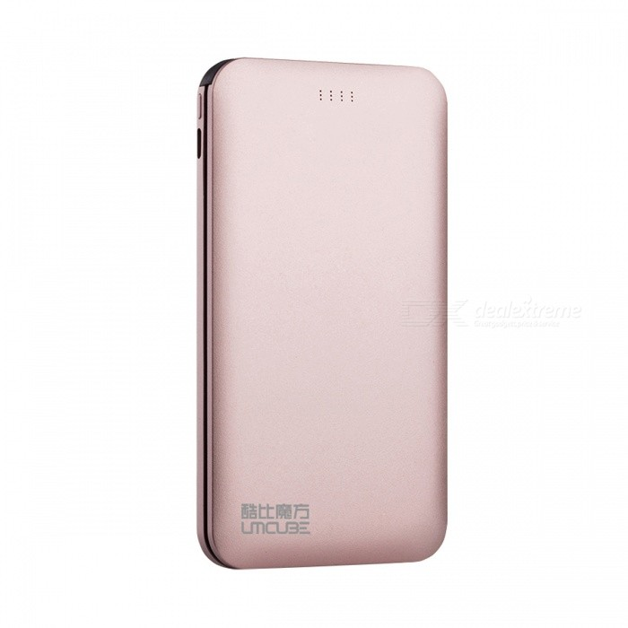 CUBE M50S 5000mAh Portable Power Bank / Batterie Externe - Rose Or