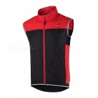 ARSUXEO Unisex Ultra-light Sleeveless Jacket Waistcoat for Cycling (L)