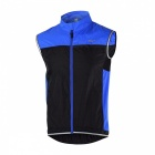 Windproof Breathable Anatomic Design Polyester Jacket / Vest Waistcoat for Outdoor Cycling, Running