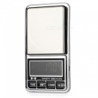 "DS-29 200g/0.01g 2.0"" LCD Precision Electronic Scales - Black + Silver"