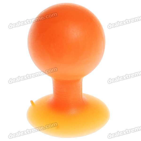 Colorful Hard Rubber Suction Cup Stand for Iphone 3g/3GS/4/Ipod (Color Assorted)