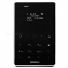 "M4 P318 0.96"" Ultra-thin CAD Extra Credit Card Phone - Black"