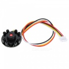 Mini 700TVL CCTV IR Surveillance Infrared Security FPV Camera - Black
