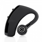 Wireless Bluetooth 4.0 Stereo In-Ear Monaural Headphone w/ Mic - Black