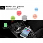 Q8 Mini Wireless Bluetooth 4.0 Stereo Headset w/ Car Charger