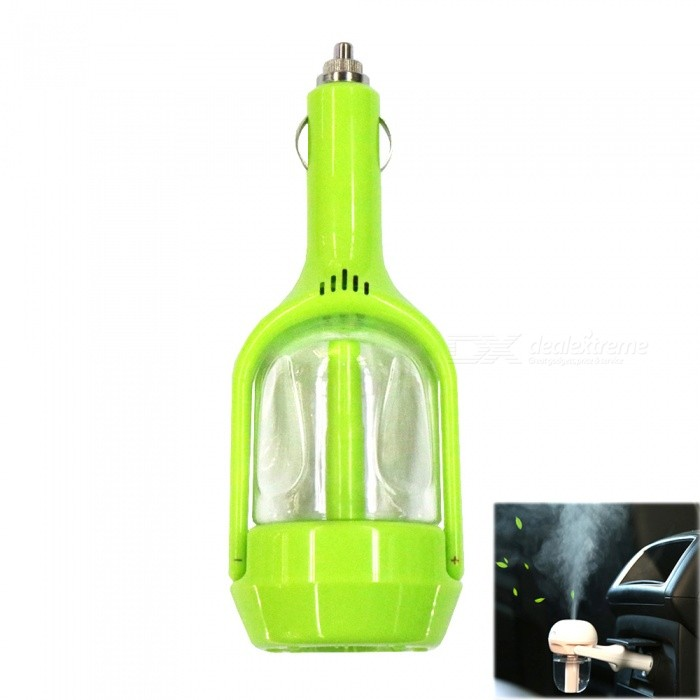 M-18 100mL Mini Car Humidifier / Car Air Purifier - Grass Green