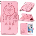 BLCR Dreamcatcher Pattern Leather Wallet Case for IPHONE 6 / 6S - Pink