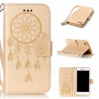 BLCR Dreamcatcher Pattern Leather Wallet Case for IPHONE 7 - Golden