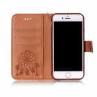 BLCR Dreamcatcher étui en cuir pour IPHONE 7 - marron
