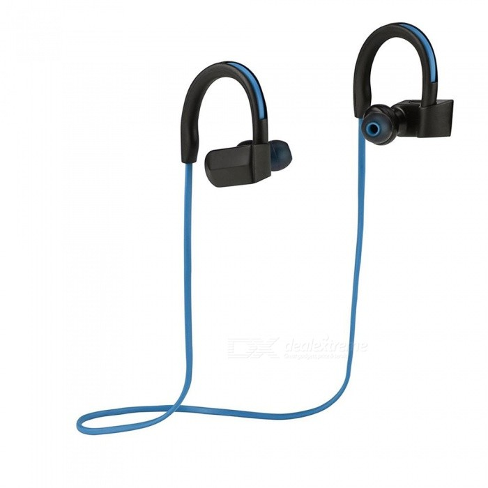 Waterproof Bluetooth V4.1+EDR HIFI Wireless Stereo Earphone - Blue