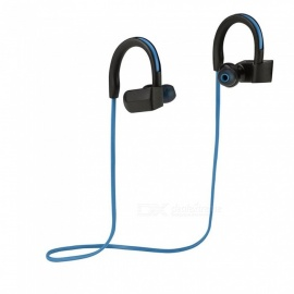 Wasserdichte Bluetooth V4.1 + EDR HIFI Wireless Stereo Ohrhörer - Blau