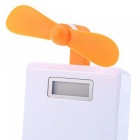 KICCY Mini USB Fan for Android Smart Phones - Orange