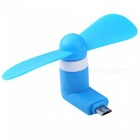 KICCY Mini USB Fan for Android Smart Phones - Blue