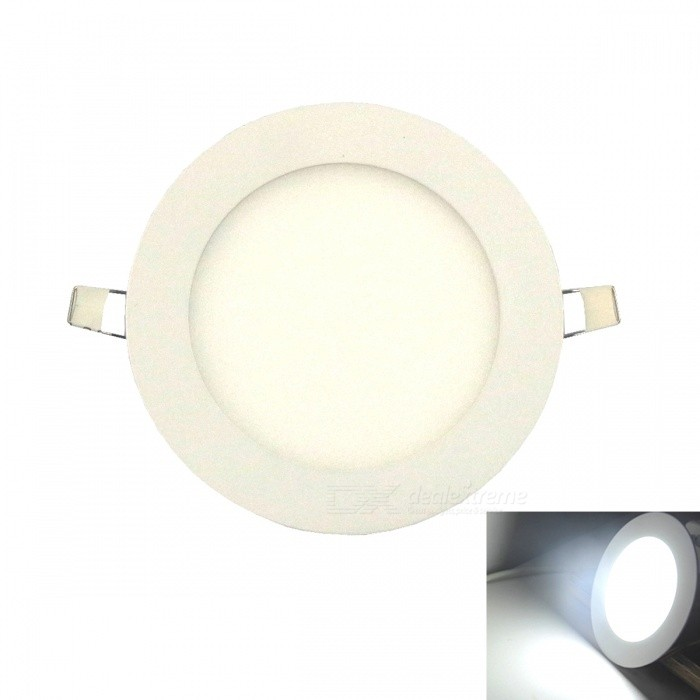 Ultra-thin 6W 30-2835SMD LED Cold White Embedded Ceiling Light