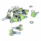 12mm Rotary 360 ° Shaft Dia 6mm Encoder Switches (10 PCS) - Blanc