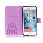 BLCR Dreamcatcher Pattern Leather Wallet Case for IPHONE 6/6S - Purple