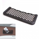 SHUNWEI HC-6888 ABS Car Storage Mesh Net Bag - Black