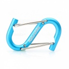 NatureHike 6cm S Shaped Quick Release Buckle - Blue + Silver