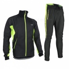 Breathable Fleece Thermal Windproof Clothes for Bike Cycling Racing in Autumn Winter