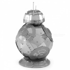 DIY 3D Puzzles 3DBB-8 Robotic Assembly Model Educational Toys - Silver