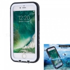 KICCY Waterproof PC + TPU Case Cover for IPHONE 7 4.7 Inch - White