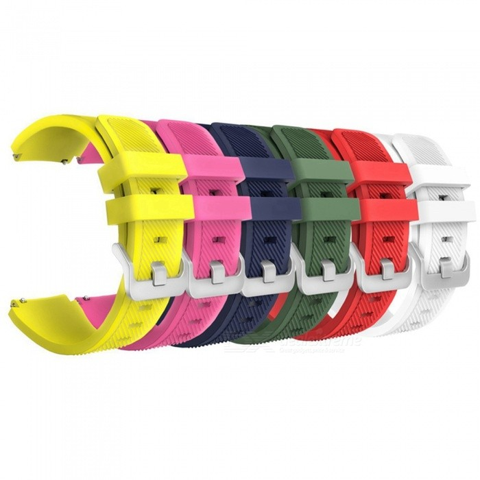 Miimall 6PCS Replacement Soft Silicone Watchbands for Samsung Gear S3Wearable Device Accessories<br>Form  ColorMulti ColorModelS3Quantity6 DX.PCM.Model.AttributeModel.UnitMaterialSoft SiliconePacking List6 x Soft Silicone Replacement Band for Samsung Gear S3 Frontier/S3 Classic (smart watch not included)<br>