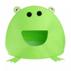 Green Frog Shape Pet Dog Cat Puppy Bed Tent House