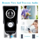 Wi-Fi Enabled Rainproof Video Doorbell for Android or IOS (US Plugs)