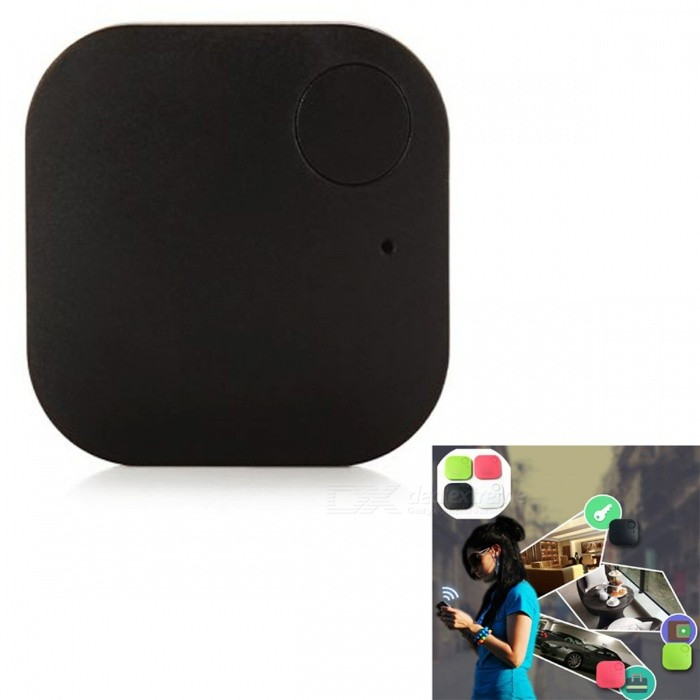 Dispositif d'alarme anti-pertes KICCY Square Shape Bluetooth V4.0 - Noir