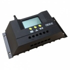 CM3024Z 30A PWM Solar Charge Controller w/ LCD Display - Black