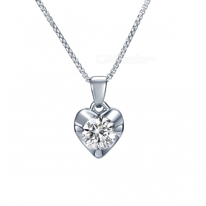 SILVERAGE 925 Sterling Silver Fine Jewelry Pendant Necklace - Silver