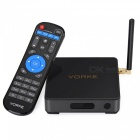 VORKE Z1 Octa-Core Smart TV Box w/ 3GB RAM, 32GB ROM - Black (EU Plug)