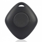 KICCY Bluetooth V4.0 Rhombus Shape Anti-lost Alarm Device - Black