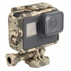 i395C Camouflage Border Cover Bracket for Gopro Hero 5 Camera Accessories