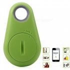 KICCY Water Drop Shaped Smart Bluetooth 4.0 Tracker GPS Locator- Green
