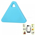 Triangular Wireless Bluetooth Anti-Lost Alarm Device w/ Remote Selfie, Recording, Location Function