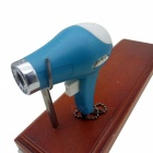 Creative Hair Dryer Shaped Gas Lighter (Random Color)