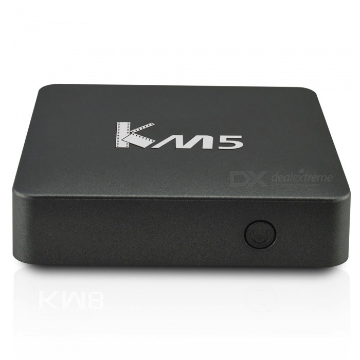 GULEEK KM5 Amlogic S905X Quad-core Android 6.0 Smart TV Player - Black