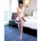 Buy Sexy Lingerie Catwoman Game Uniform Suits - White + Leopard